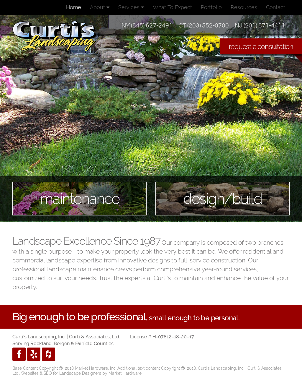 Curti s Landscaping website history - Curti S Landscaping Competitors, Revenue And Employees - Owler