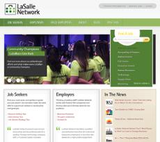 LaSalle website history