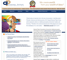 GPC website history
