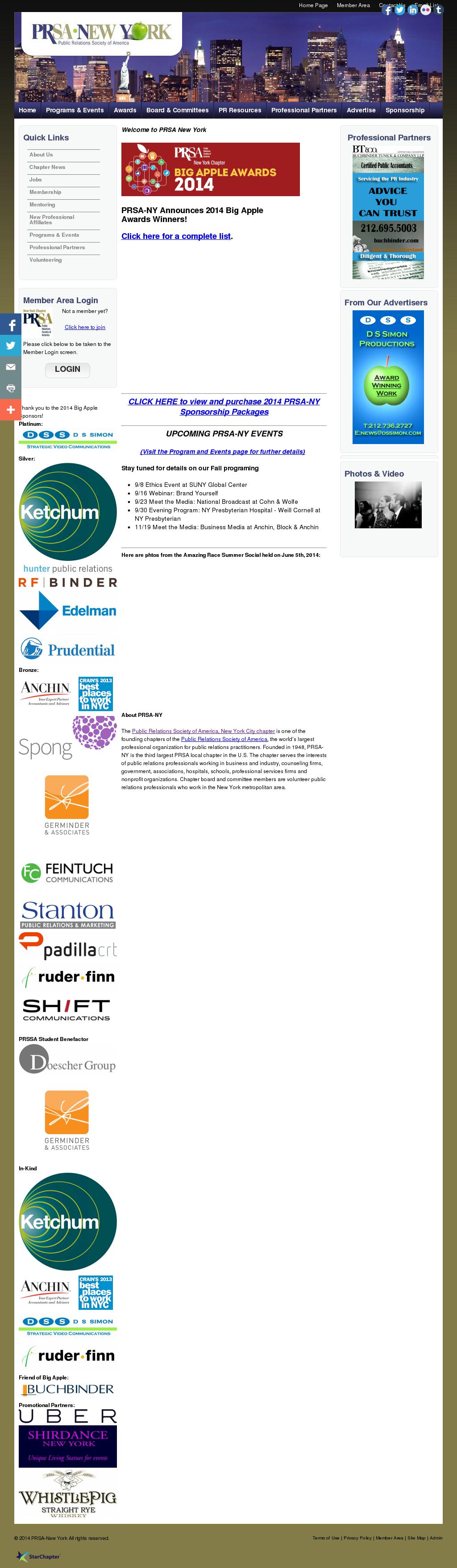 PRSA-NY Competitors, Revenue and Employees - Owler Company