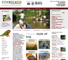 Chameleon website history