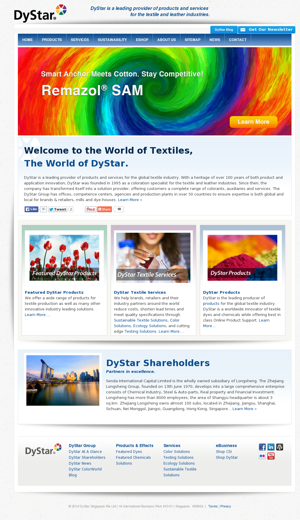 DyStar Competitors, Revenue and Employees - Owler Company Profile
