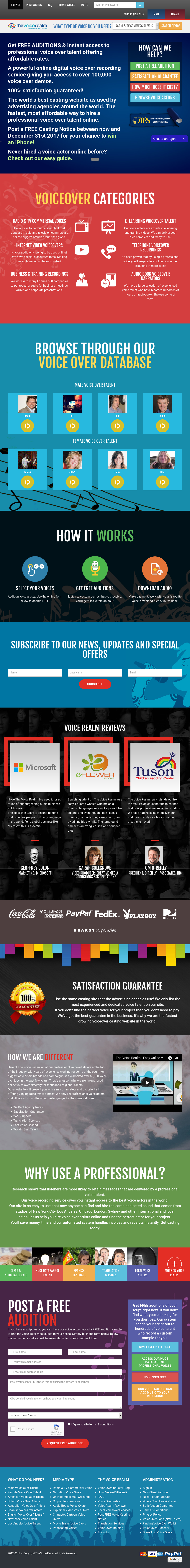 The Voice Realm Competitors, Revenue and Employees - Owler