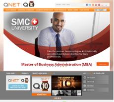 QNet website history