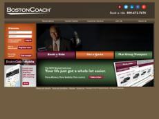 BostonCoach website history