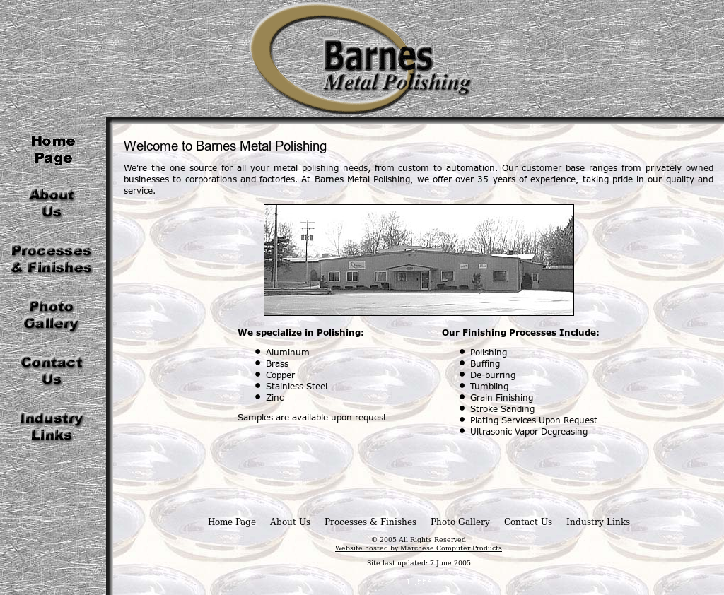 Barnes Metal Polishing Competitors Revenue And Employees