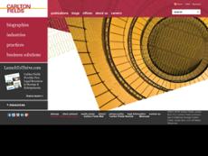 Carlton Fields website history