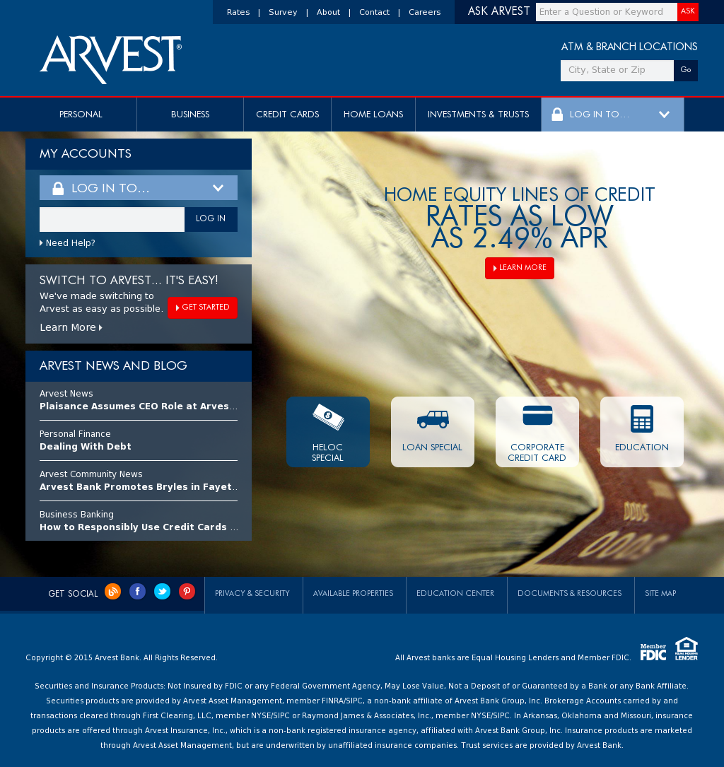 Arvest Competitors, Revenue and Employees - Owler Company
