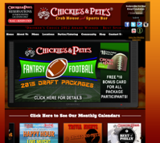 Chickie's and Pete's website history