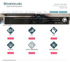 Barracuda website history