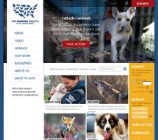 HSUS website history