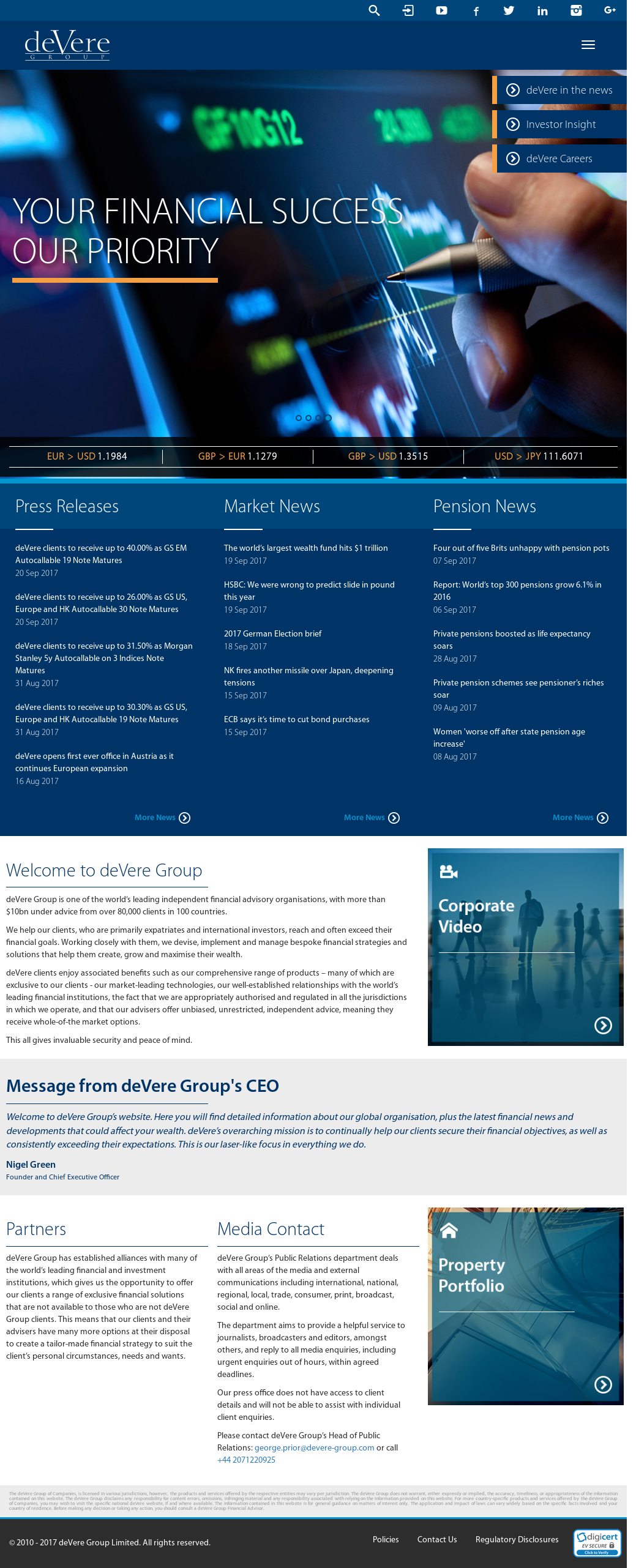 deVere Group Competitors, Revenue and Employees - Owler
