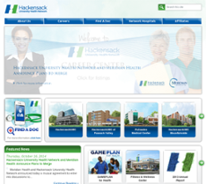 Hackensack website history