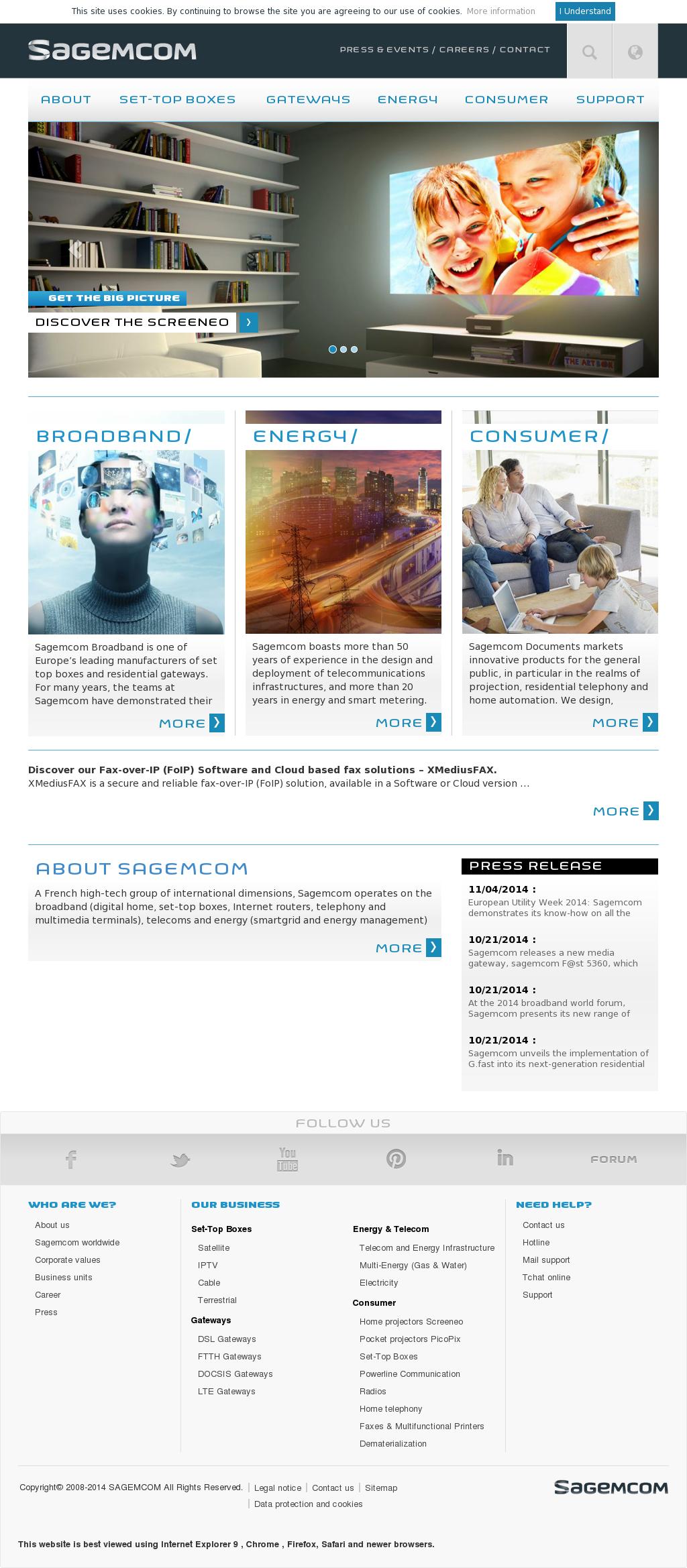 Sagemcom Competitors, Revenue and Employees - Owler Company Profile