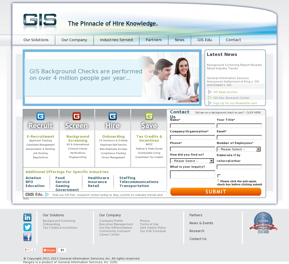 GIS Competitors, Revenue and Employees - Owler Company Profile