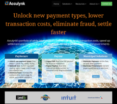 Acculynk website history