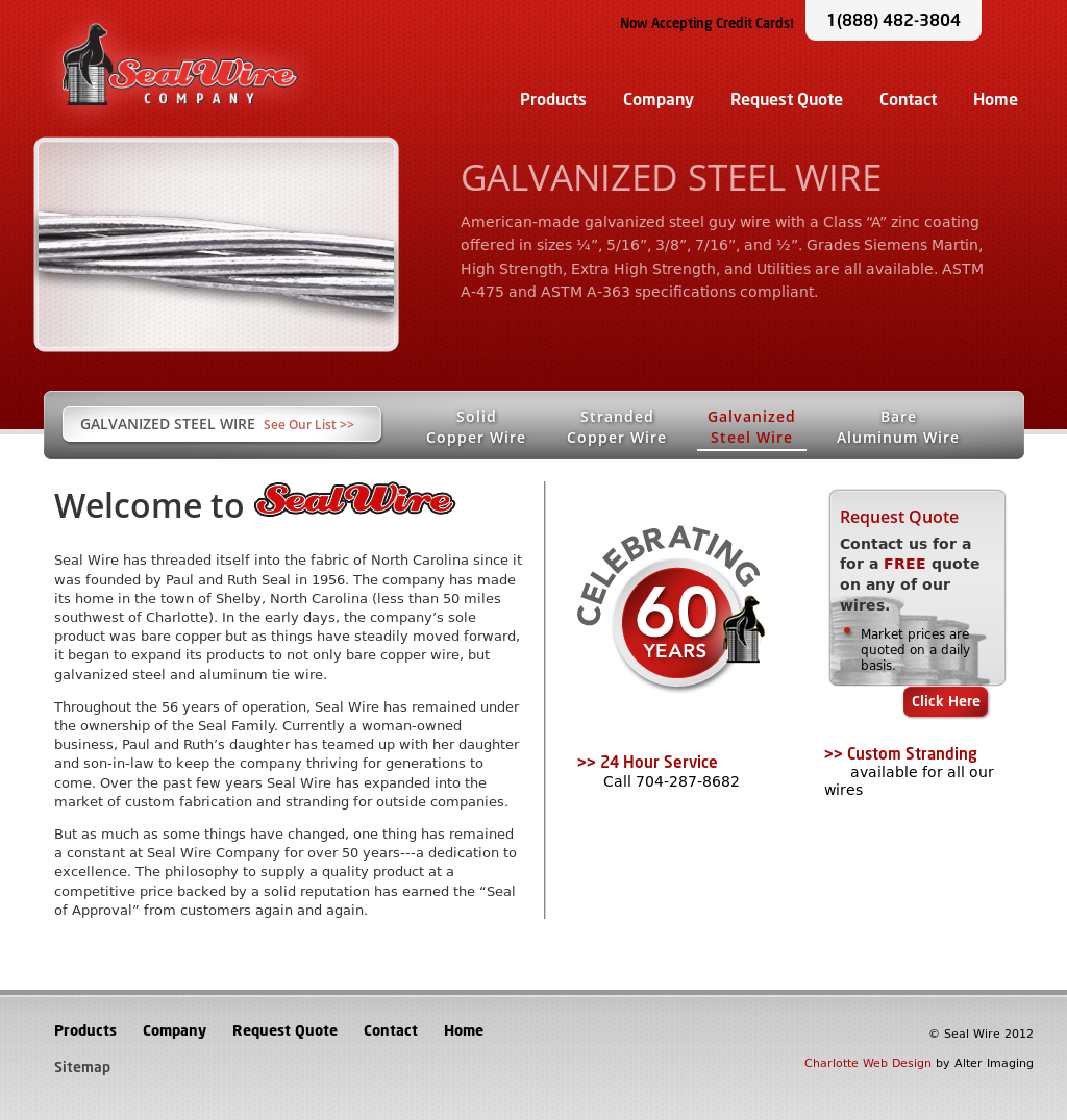 Steel And Wire Company Page - WIRE Center •