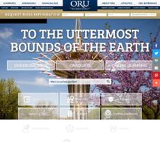 ORU website history