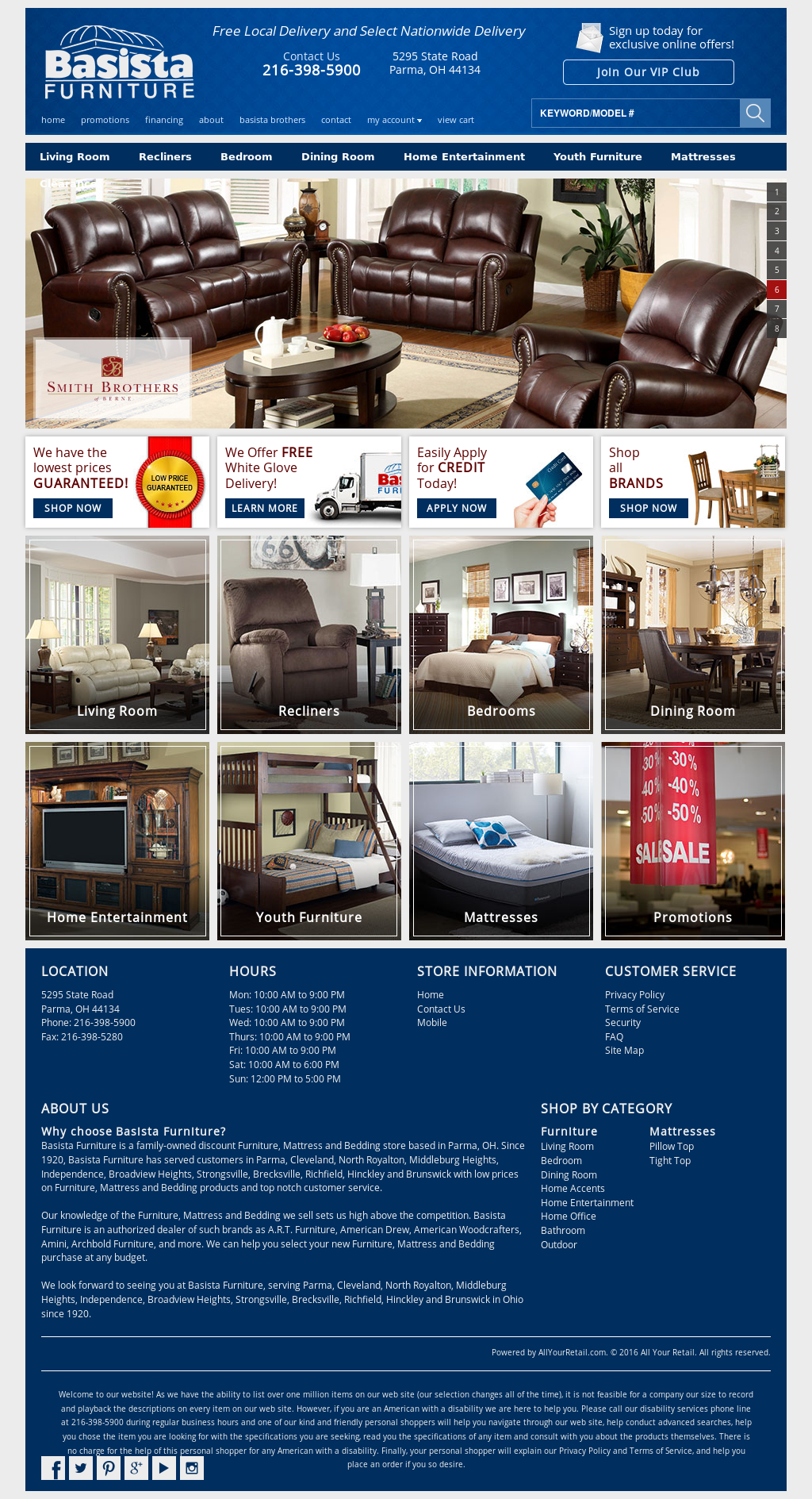 Basista Furniture Compeors Revenue And Employees Owler Company Profile