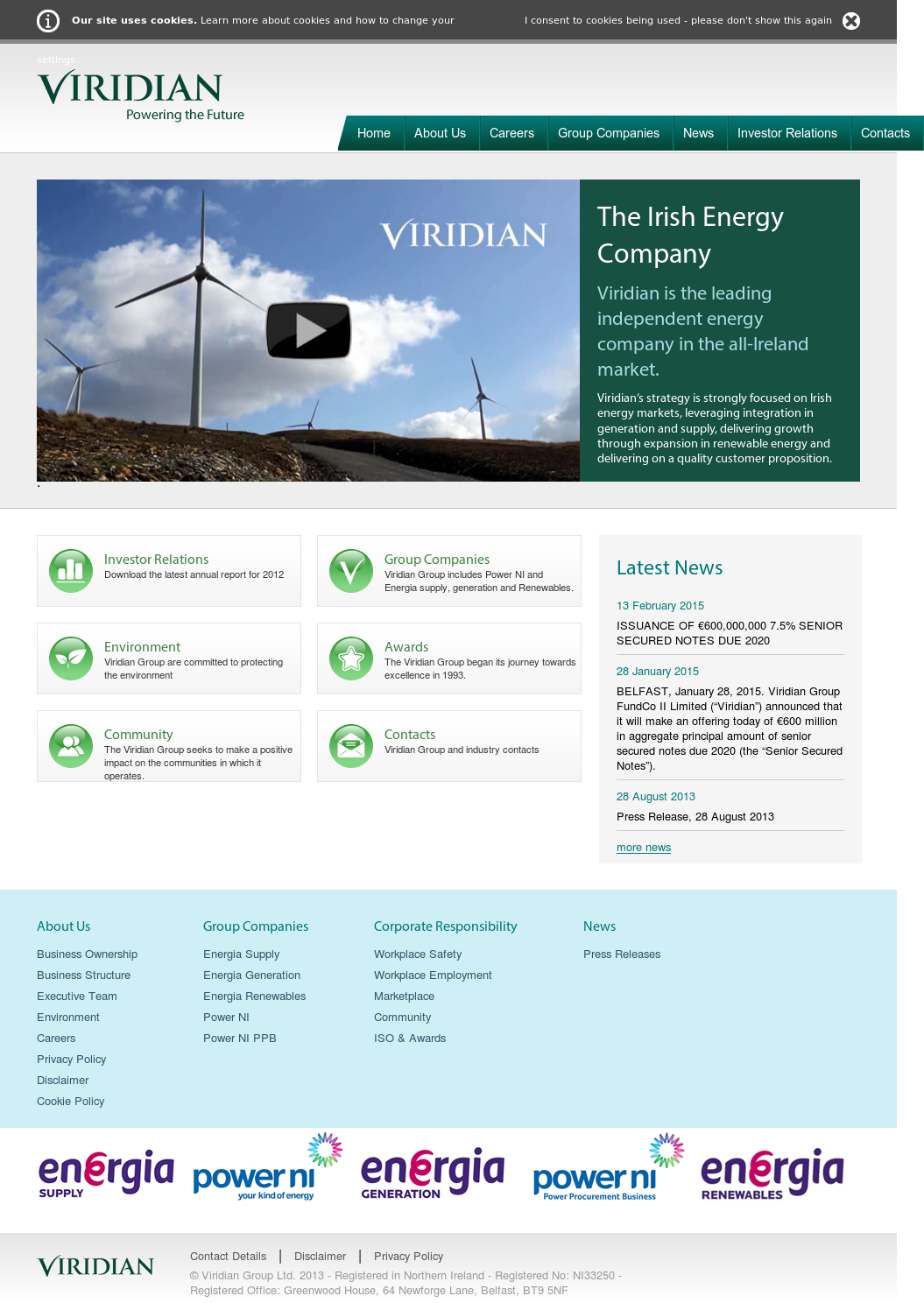 Viridian Group Compeors Revenue And Employees Owler Company Profile