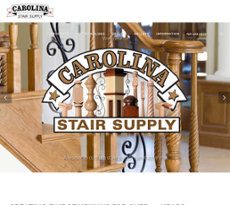 Carolina Stair Supply Website History