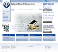 Crabtree Property Management website history