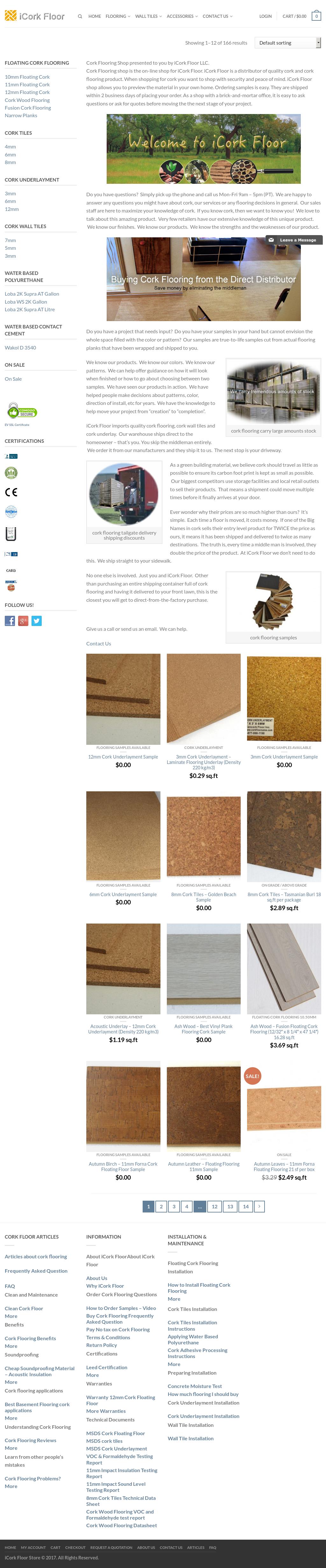 Icork Floor Website History