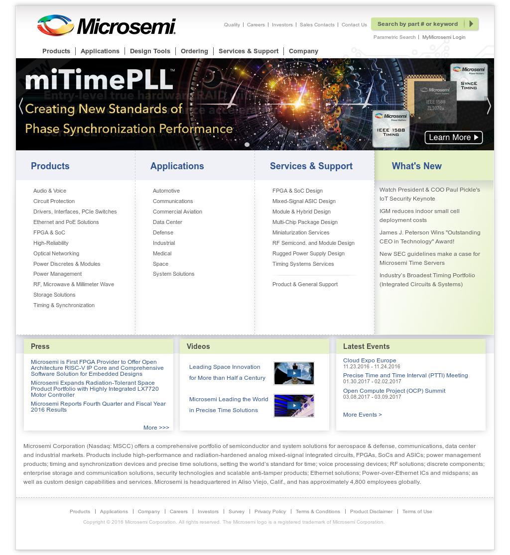 Microsemi Competitors, Revenue and Employees - Owler Company Profile