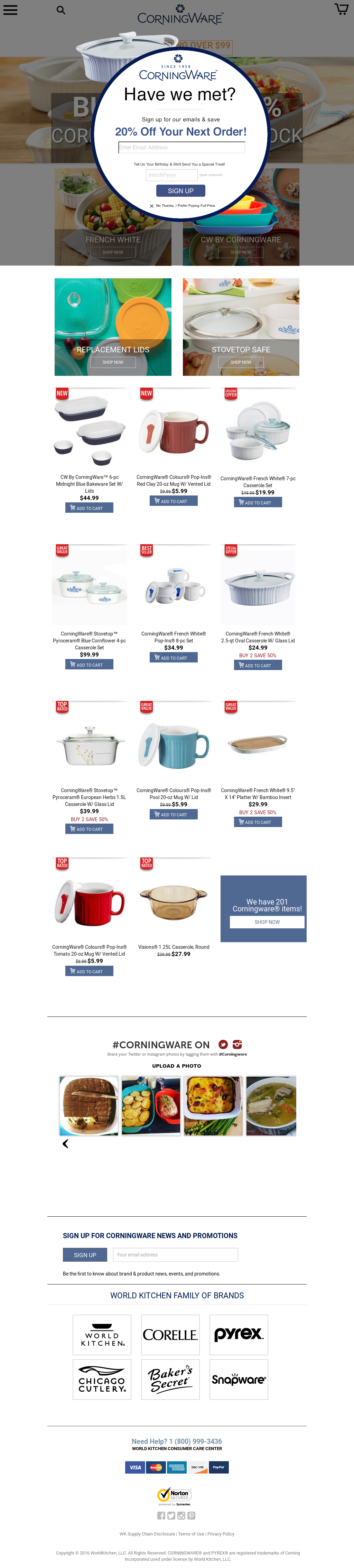 CORNINGWARE Competitors, Revenue and Employees - Company Profile on ...