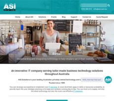 ASI website history