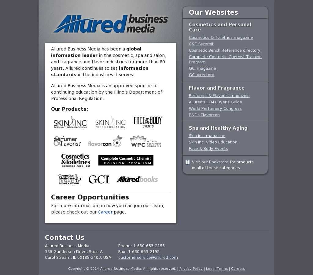 Allured Business Media Competitors, Revenue and Employees