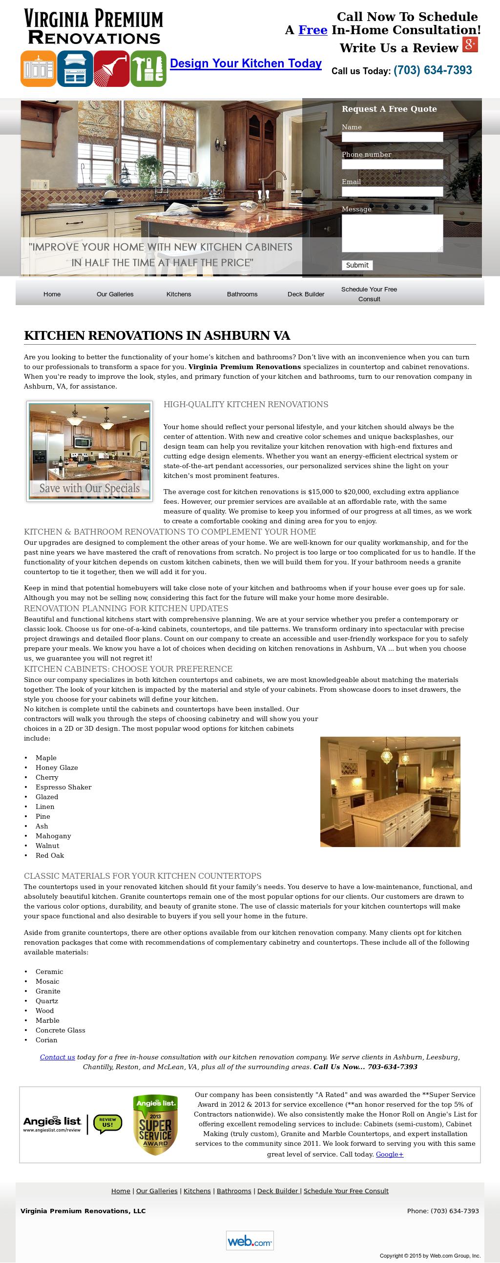 Virginia Premium Renovations Competitors, Revenue and Employees