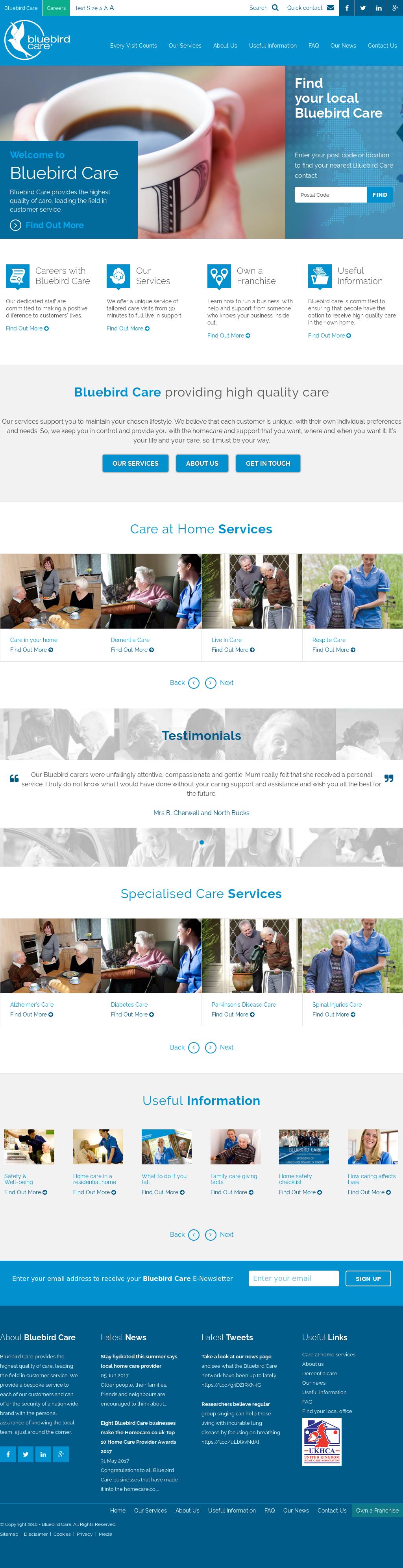 Bluebird Care Competitors, Revenue and Employees - Owler Company Profile