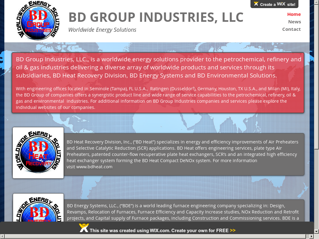 Owler Reports - Press Release: BD : BD Group Industries, LLC