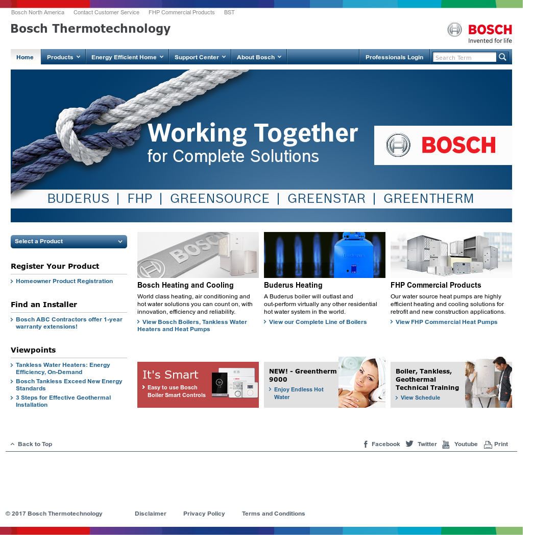 Bosch Thermotechnik GmbH Competitors, Revenue and Employees - Owler ...