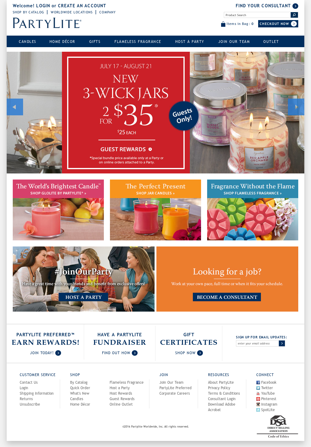 Partylite Competitors Revenue And Employees Owler Company Profile