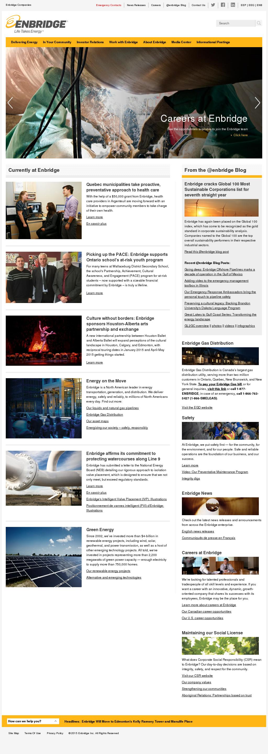 Enbridge Competitors, Revenue and Employees - Owler Company