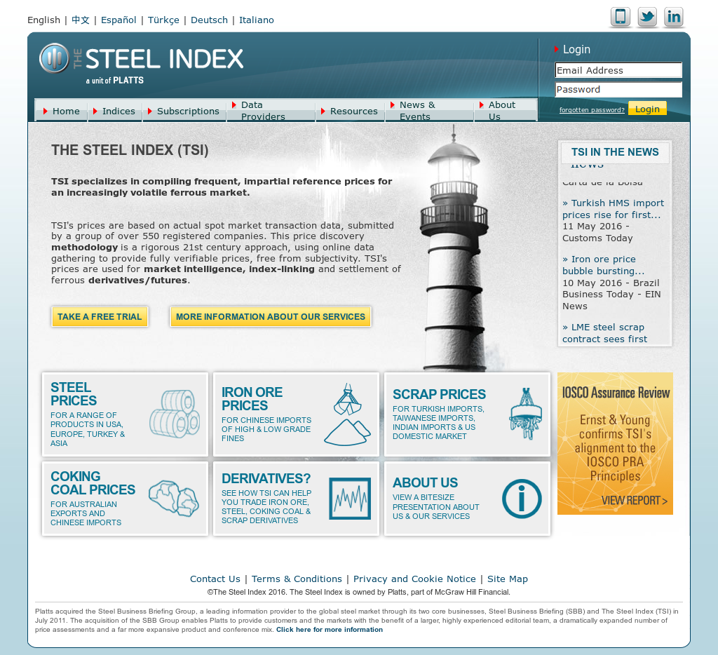 The Steel Index Competitors, Revenue and Employees - Owler