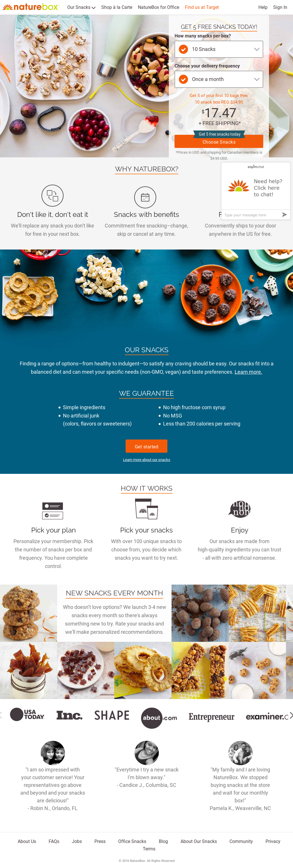 NatureBox Competitors, Revenue and Employees - Owler Company