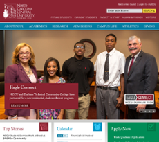 NCCU website history