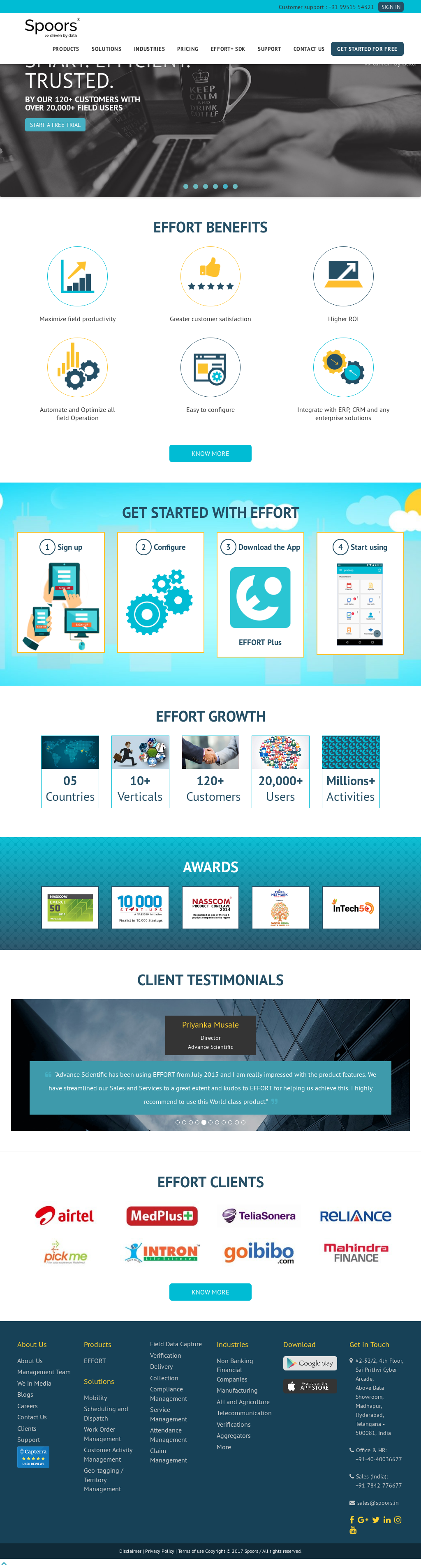 Spoors Technology Solutions Competitors, Revenue and