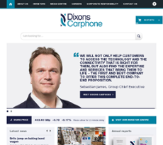 Dixons Carphone Competitors, Revenue and Employees - Owler