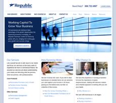 Republic Business Credit website history