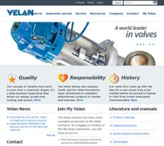 Velan website history
