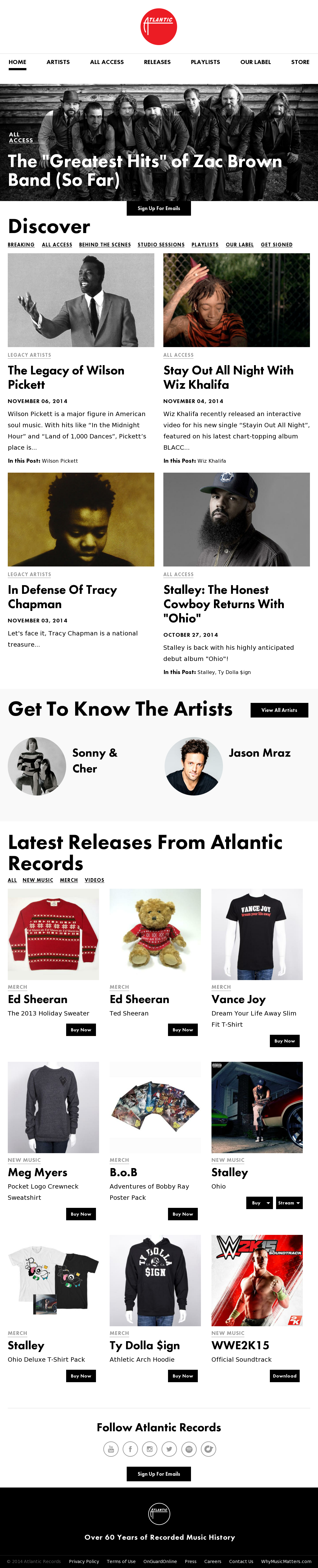 Atlantic Records Competitors, Revenue and Employees - Owler