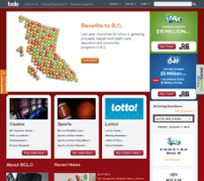 BCLC website history