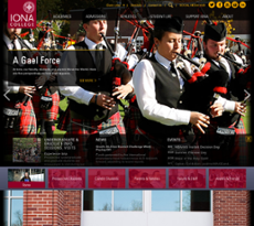Iona website history