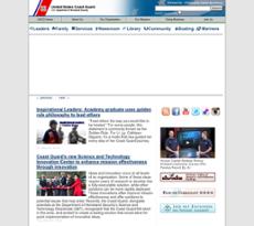 USCG website history
