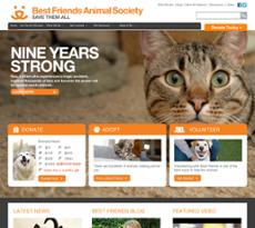 Best Friends website history