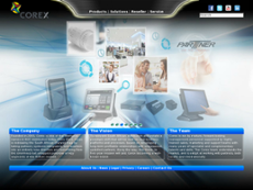 COREX website history